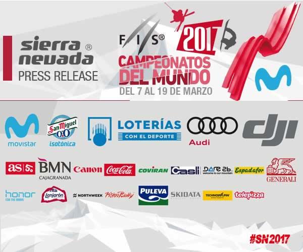 Canon patrocina el Campeonato del mundo de Snowboard y Freestyle que se celebra en Granada