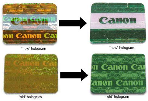 ¿Cómo identificar los productos Canon falsificados?