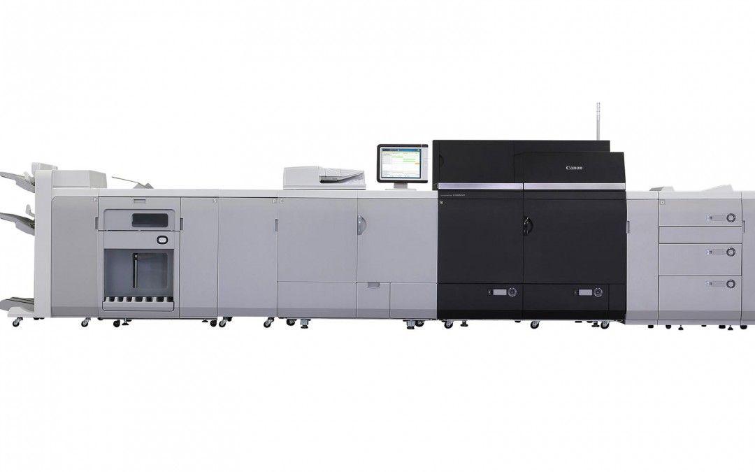 Canon lanza su nuevo modelo de producción de prensa digital imagePRESS C8000VP