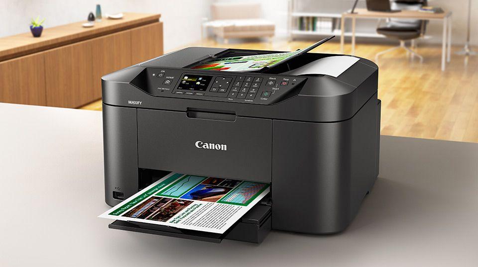 Alto rendimiento para empresas con la nueva gama Canon MAXIFY