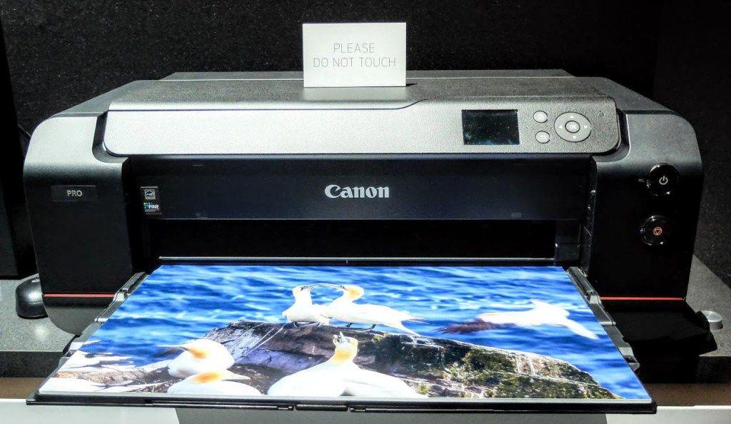 UVgel: Nueva tecnología revolucionaria para impresión de gran formato Canon