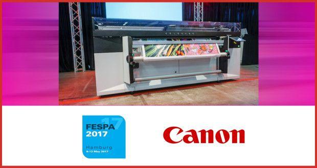 Canon muestra sus nuevas posibilidades de impresión para las empresas en FESPA 2017