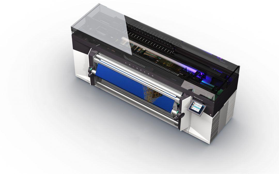 Canon presenta en C!Print 2017 la nueva impresora Océ Colorado 1640 con tecnología UVgel