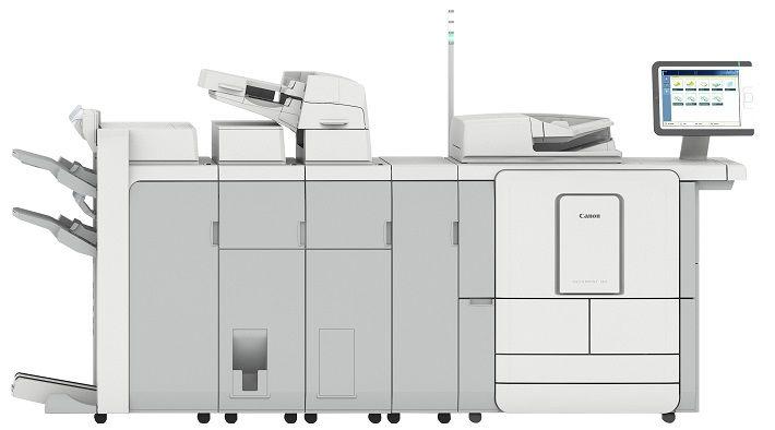 Canon agranda su familia de impresoras de producción monocromas con la serie varioPRINT 140