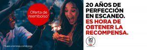 Canon Europa celebra el 20º aniversario de su escáner de documentos con una oferta especial